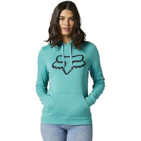 Fox Boundary Fleece Pullover Women, turkusowy